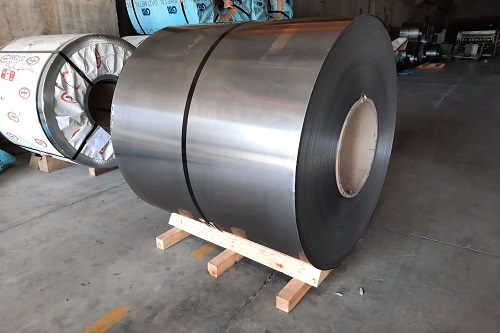 Raw Material Storage: Cold Rolled Coils